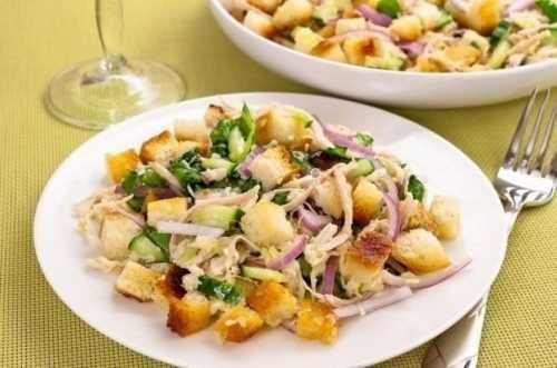 салат слоеный с курицей и виноградом — лучший вариант для праздника