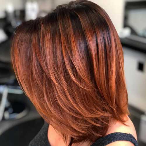 волосы до лопаток: выбираем прически и омбре на среднюю волосы